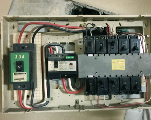 電気の契約内容