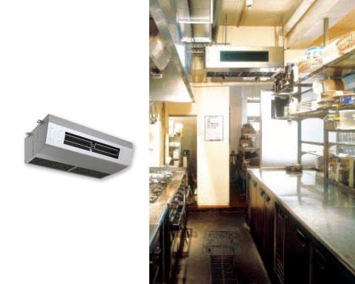 オススメの形状は厨房用エアコン