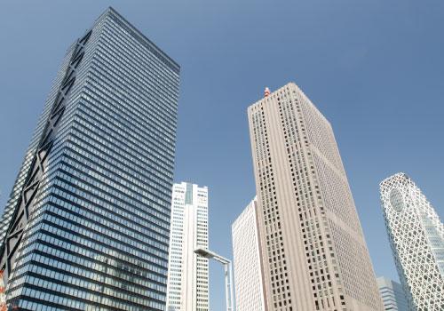 ビル一棟や大規模施設に最適な業務用エアコン