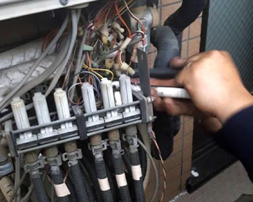 温水管の事後処理技術