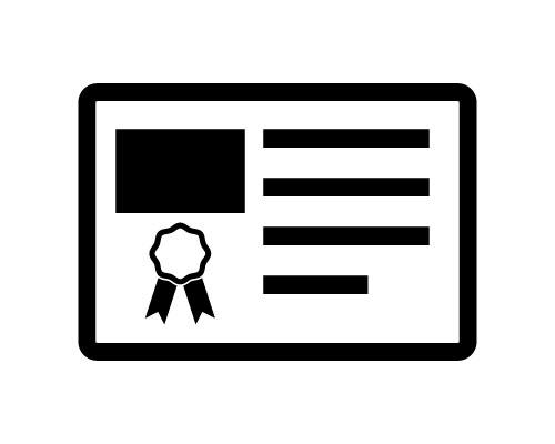 メーカー発行の保証書のコピー