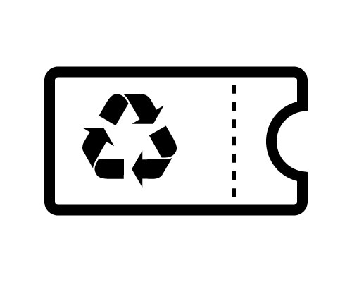 家電リサイクル券(排出者控え)の原本