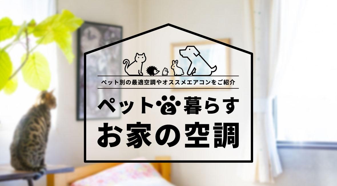 ペットと暮らす家の空調