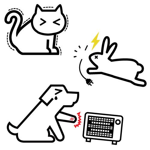 ペットのための空調時の注意