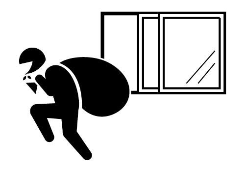 窓エアコン設置の際は防犯にも注意