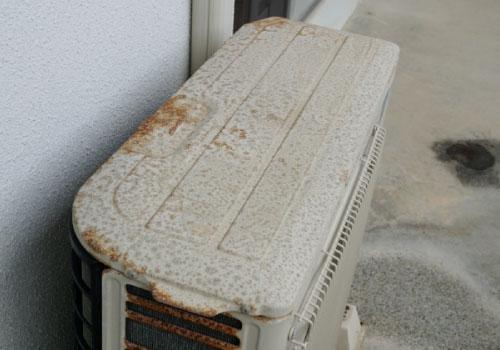 塩害によるエアコンへの被害
