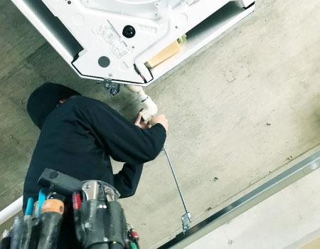 高い工事技術力