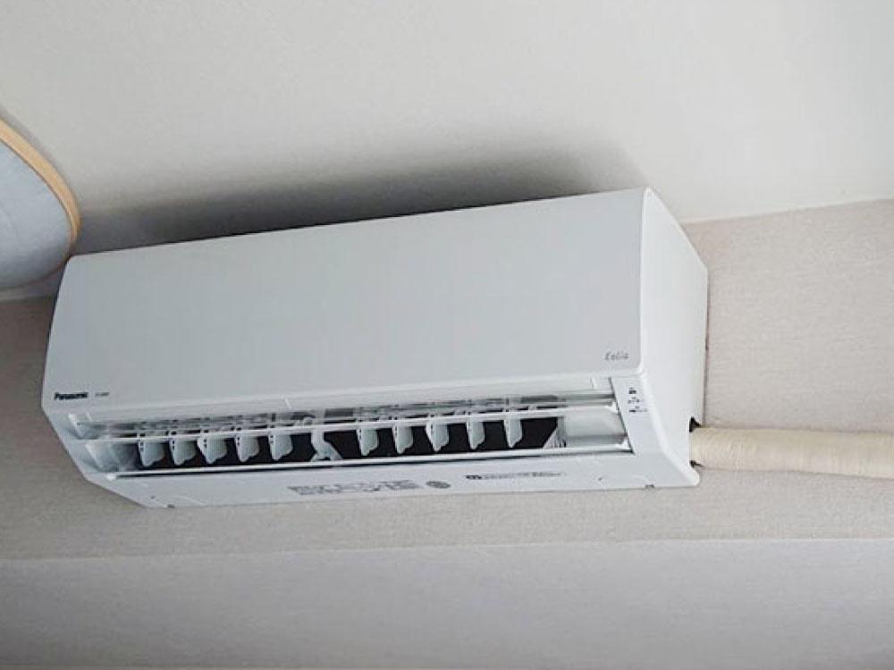 TESエアコンから東芝製パナソニック製家庭用天井埋込みエアコン&パナソニック製家庭用壁掛けエアコンへの入替え工事|渋谷区