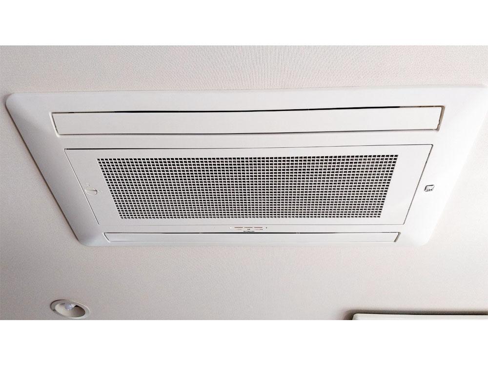 日立製家庭用天井埋め込みエアコン入替え工事|世田谷区
