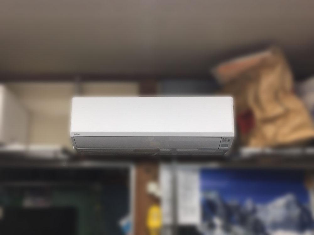 富士通ゼネラル製家庭用壁掛けエアコン&東芝製業務用壁掛けエアコン入替え工事|川崎市