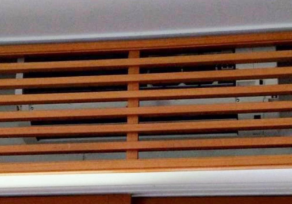 新規室内機④木板設置