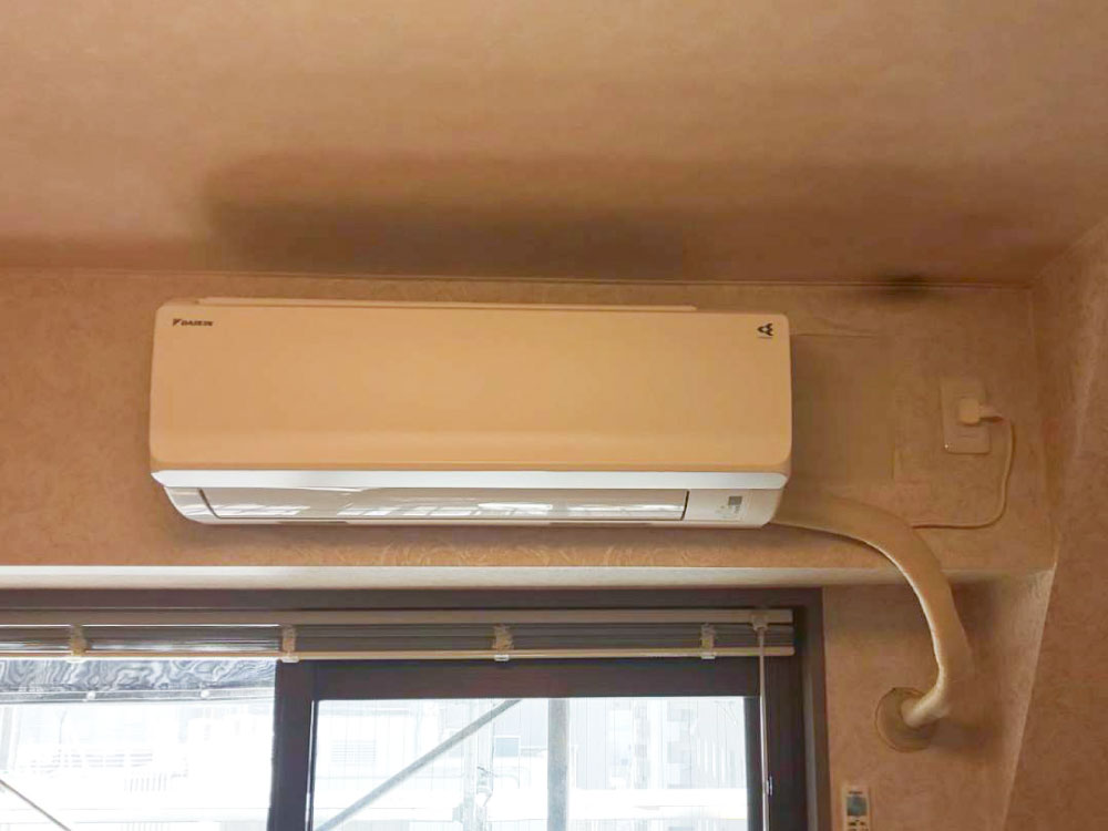 ダイキン製家庭用壁掛けエアコン入替え工事|武蔵野市