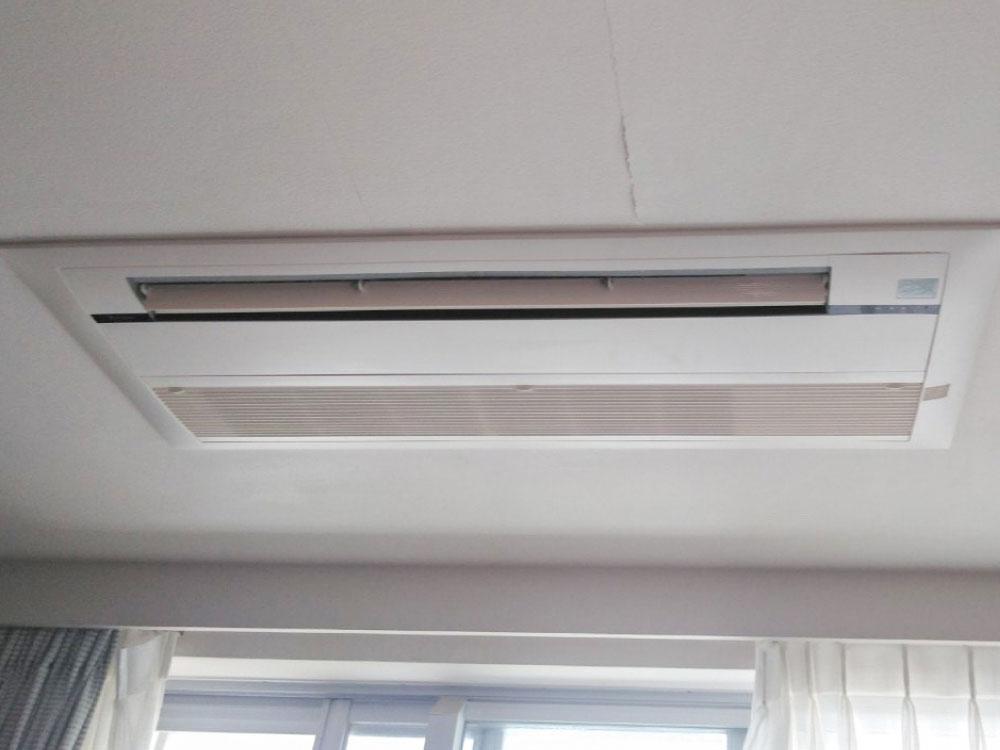 ダイキン製家庭用天井埋め込みエアコン入替え工事 品川区