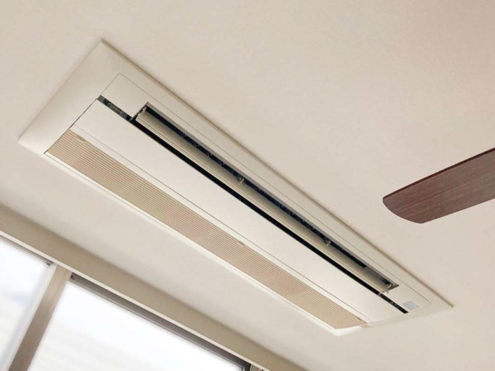 ダイキン製家庭用天井埋め込みエアコン入替え工事|江東区