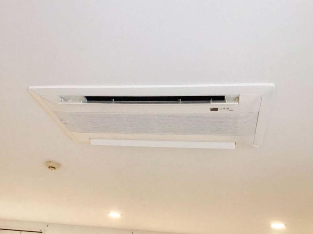 ダイキン製家庭用天井埋め込みエアコン入替え工事|川崎市